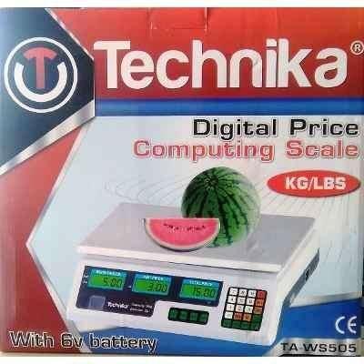 Balanza Computadora de precios digital technika TAWS505