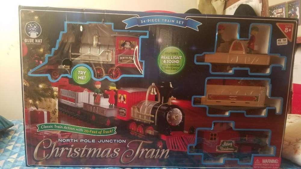 Tren Navideño Usado Solo Una Navidad