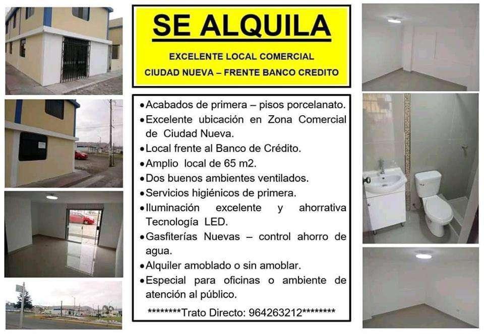 Alquiler Local Comercial Ciudad Nueva Pacocha ILO