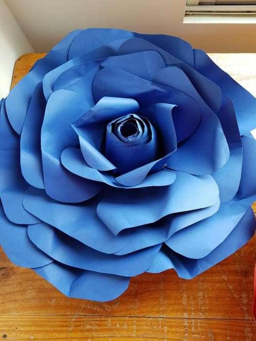 Flores Gigantes de papel (envio inmediato)