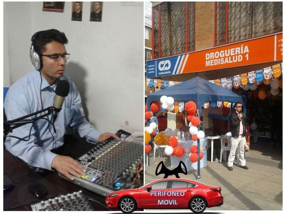LOCUTOR ANIMADOR GRABACIÓN DE AUDIOCUÑAS PARA PERIFONEO COMERCIAL TODO TIPO DE ESTABLECIMIENTOS O PRODUCTOS