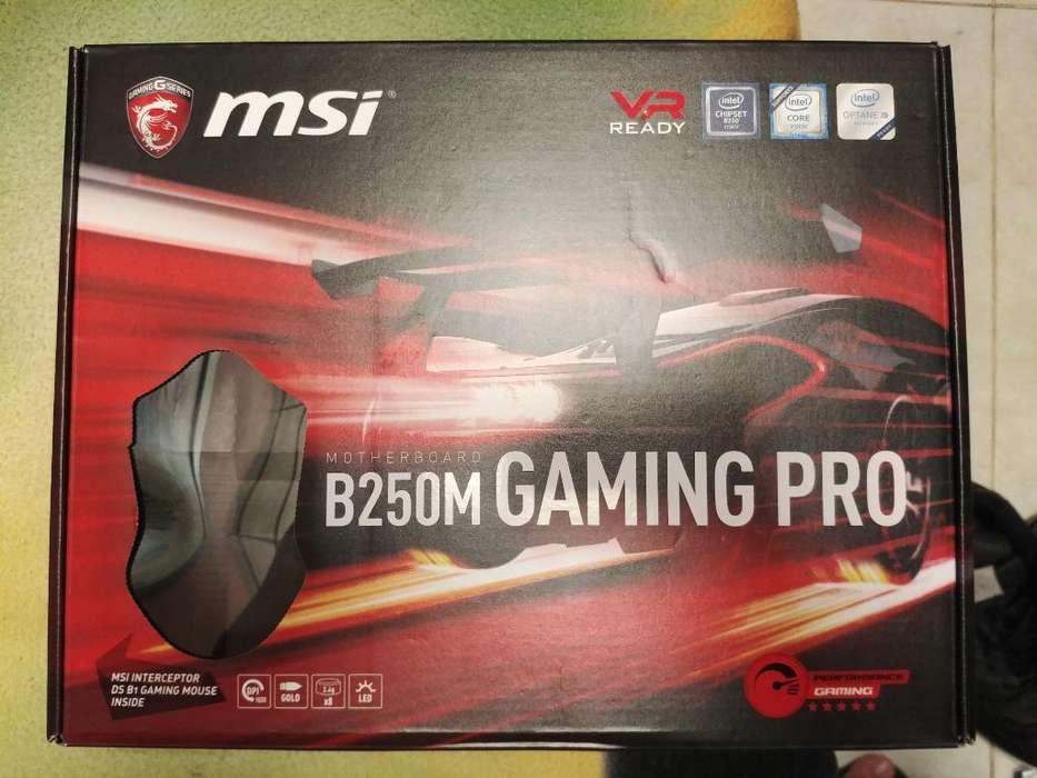 Se Vende Combo Board Msi 250m I5 7500