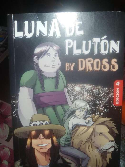 Libro Luna De Pluton 4ta Ediccion