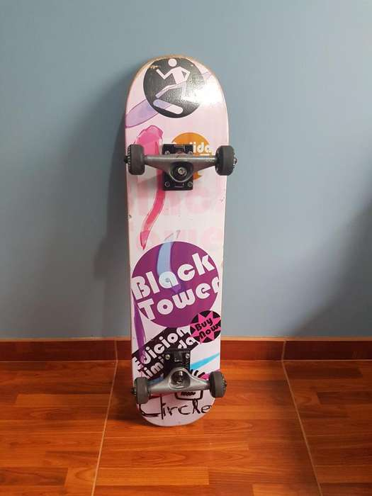 Skate Black tower trucks Venture Profesional