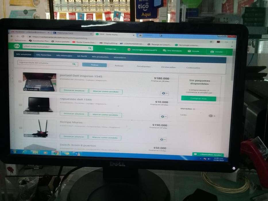monitor Dell 20