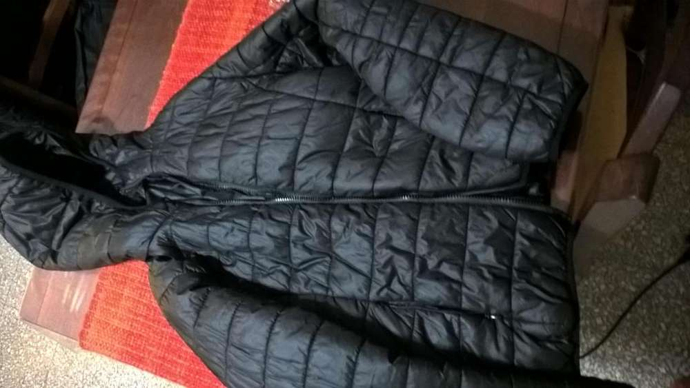 Campera Inflable Negra