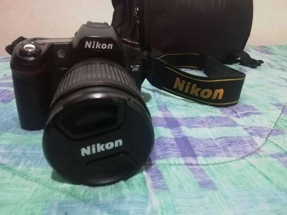 Vendo Camara Nikon D80 con Deble Foco