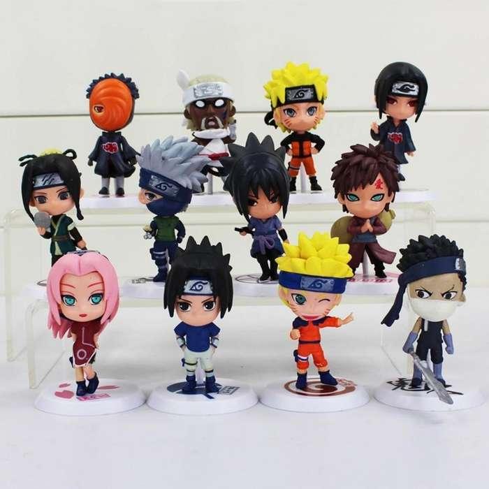Coleccion de Figuras Naruto Anime