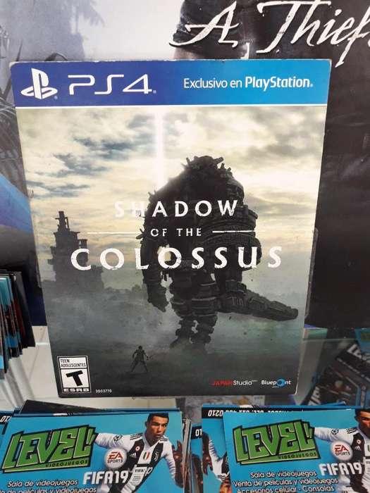 Shadow Of The Colossus Ps4 Buen Precio