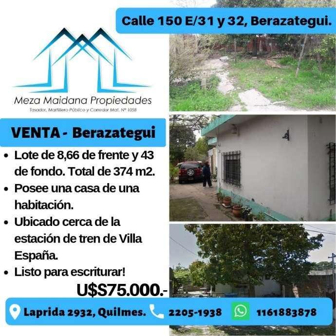 Lote en venta en Villa España