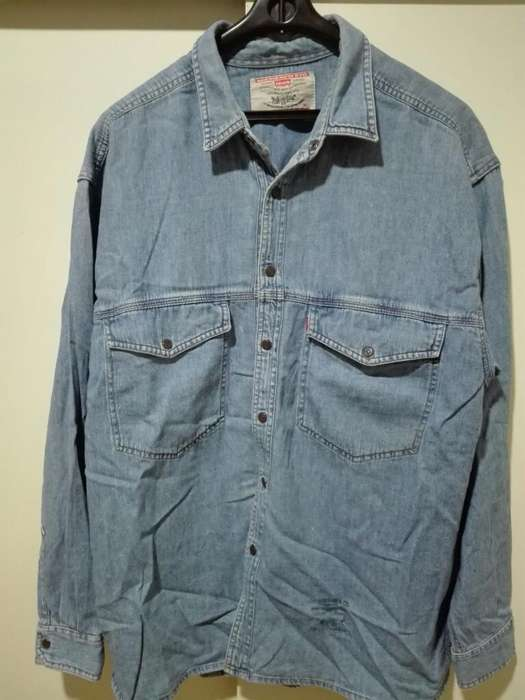 Camisa <strong>levis</strong> Original Talle Xl Impecable