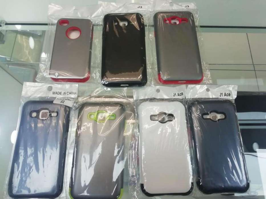 Estuche Doble Iphone 4 Samsung J2 J3 J1 Ace