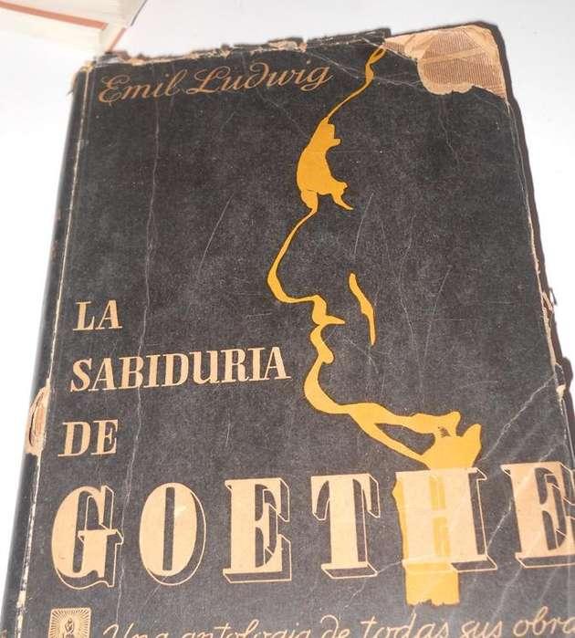 La Sabiduría De Goethe, Emil Ludwig, Claridad 2a Ed. 1942