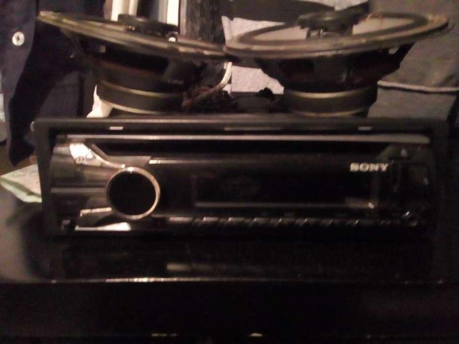 Vendo 160 Parlantes Kenwod Y Radio Sony