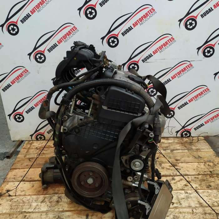 Motor Semiarmado Peugeot 206 39900 Oblea:02824989