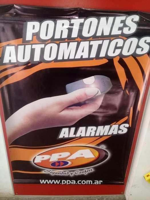 Portones Corredizos Automatizados