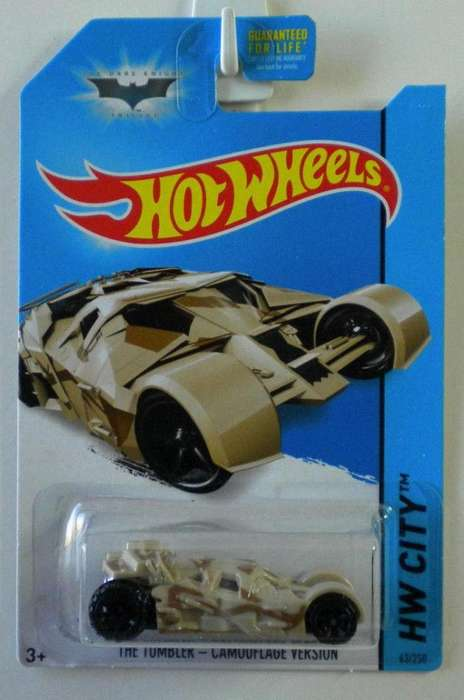 Hot Wheels BATMAN 5 Modelos Diferentes