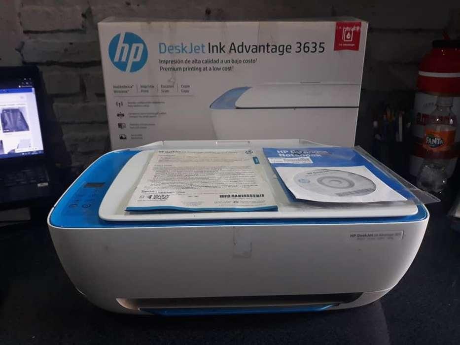 Impresora HP Deskjet lnk Advantage 3635