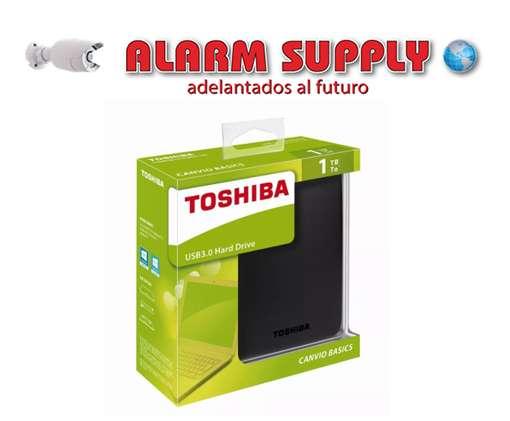 Disco Duro Externo 1Tera <strong>toshiba</strong> Usb 3.0 Alarm Supply,
