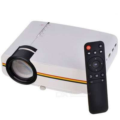 Vendo mini proyector LED 1200 Lumens HDMI USB YG400