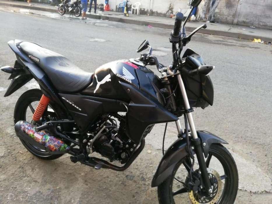 Vendo moto <strong>honda</strong> cb110 Mod 2015