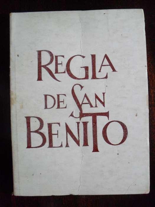 REGLA DE SAN BENITO 115 PAGINAS ABADIA DE SAN BENITO 1978