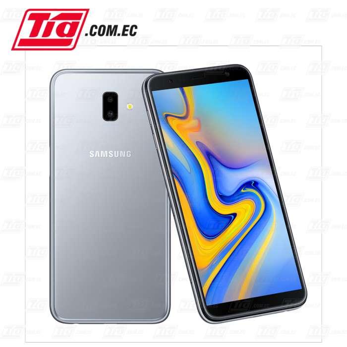 <strong>celular</strong> SAMSUNG J6 PLUS GRIS