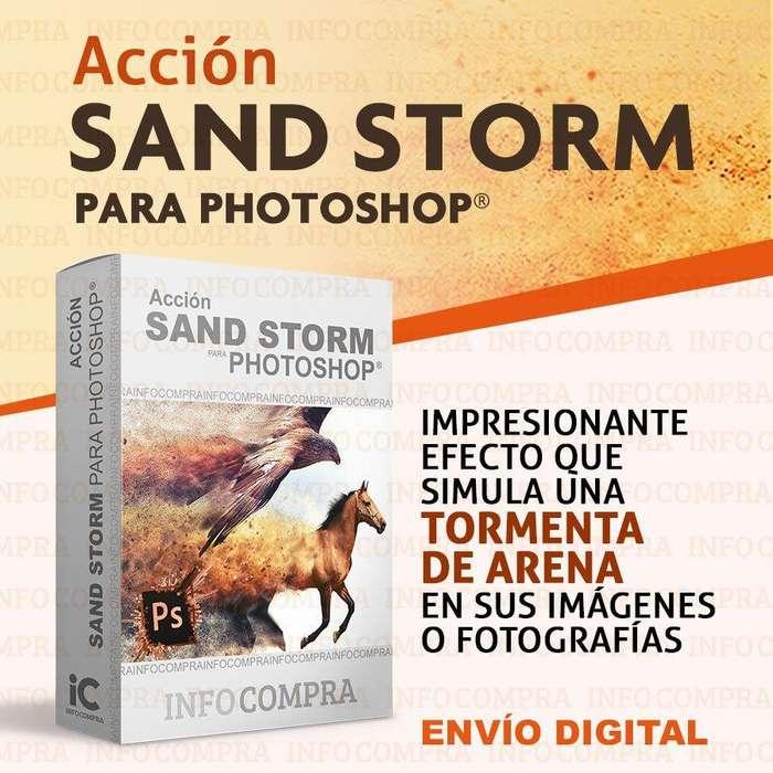 Efecto Sandstorm Para Photoshop. ¡Agrega Efectos Especiales a tus Fotos e Imágenes!