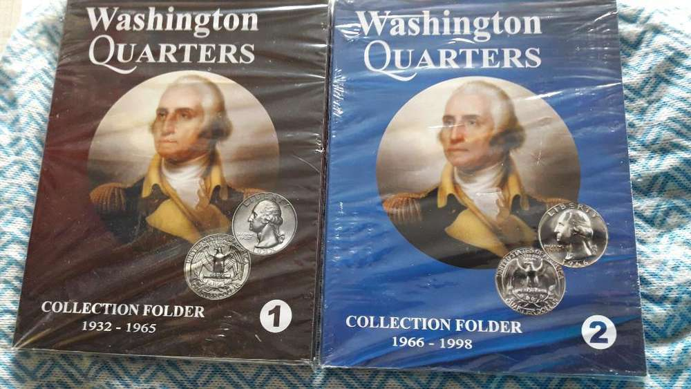 Album Coleccionador Washington Quarters