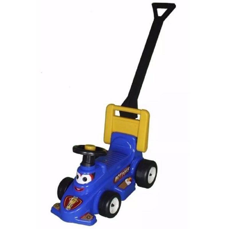 Carro Montable Caminador Azul Formula 1 Niño Juguete Infantil