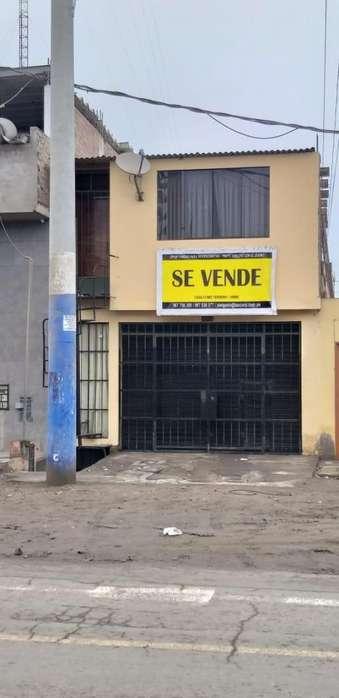 Se vende casa con local comercial y departamento como terreno de 300m2 - Chorrillos, Lima
