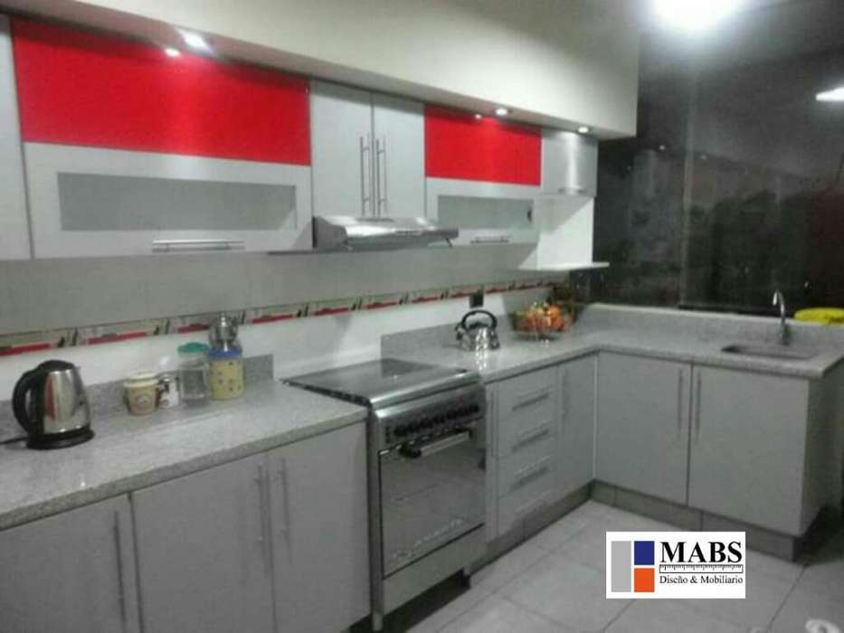 Muebles de Cocina Melamina Granito