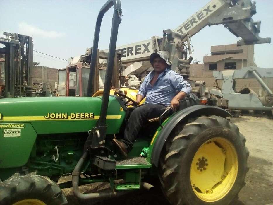 TRACTOR AGRICOLA VIÑATERO JHON DEERE MAS ATOMIZADOR
