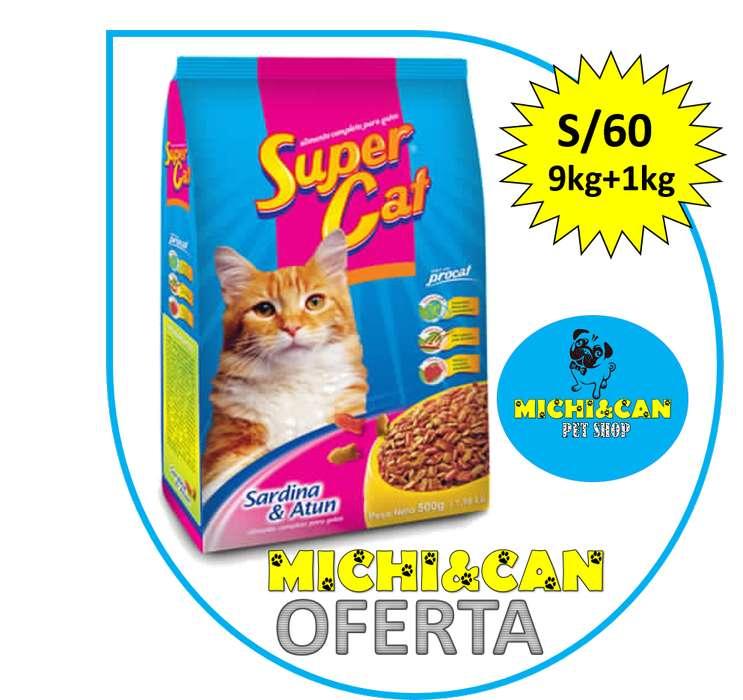 Supercat Para Gatos Adultos