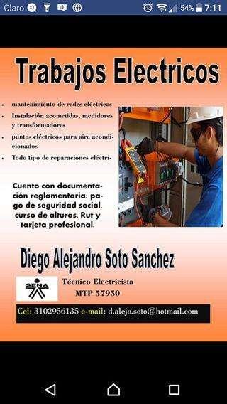 SERVICIOS ELÉCTRICOS GARANTIZADOS