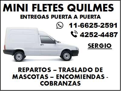 Mini Fletes Quilmes y Zona Sur