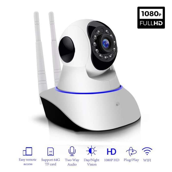 Cámara IP Wifi HD 1920x1080p Robótica con visión nocturna