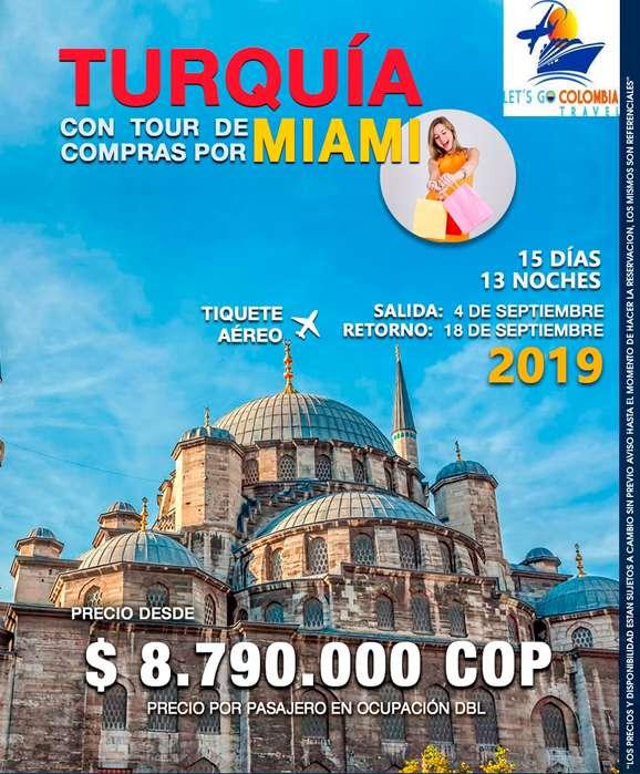 Turquía y Miami
