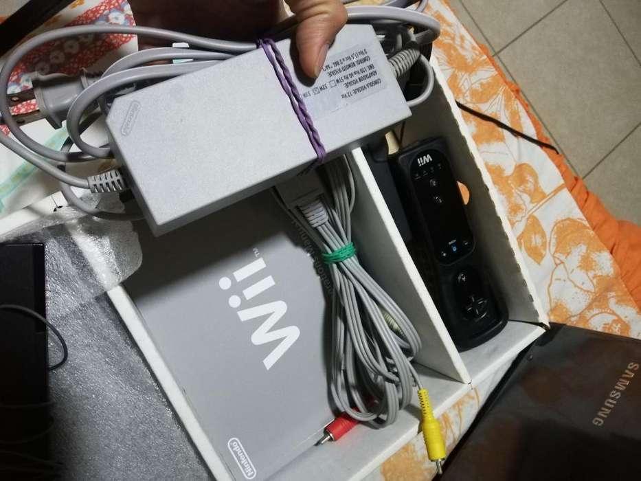 Nintendo Wii con Caja Y en Buen Estado