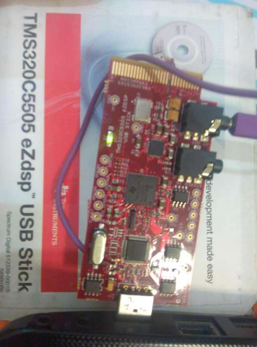 Arduino Dsp FPGA Texas Instruments C5505 Usb Original Cd Caja