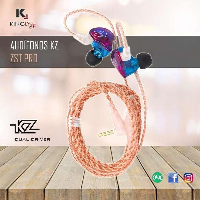 Audífonos KZ ZST PRO DUAL DRIVER Tienda virtual en Trujillo Accesorios Trujillo Kingly Shop