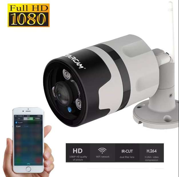 Camara Ip Panoramica Exterior Vstarcam C63s 1080p Wifi