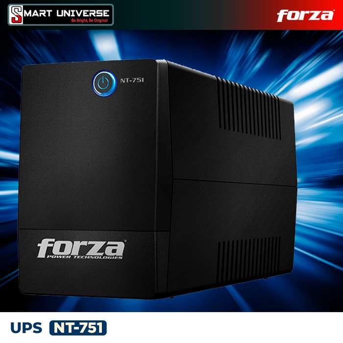 Ups Regulador Forza Nt751 750va 120v 6 Tomas Rj11