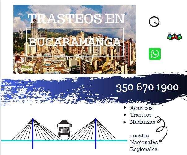 Mudanzas en Bucaramanga - Giron - Floridablanca - Piedecuesta