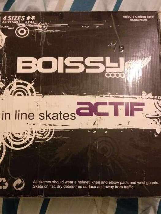 Rollers Nuevos 37/38 Boissy Actif