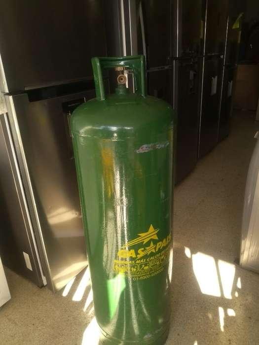 Bombona de 100l con Gas