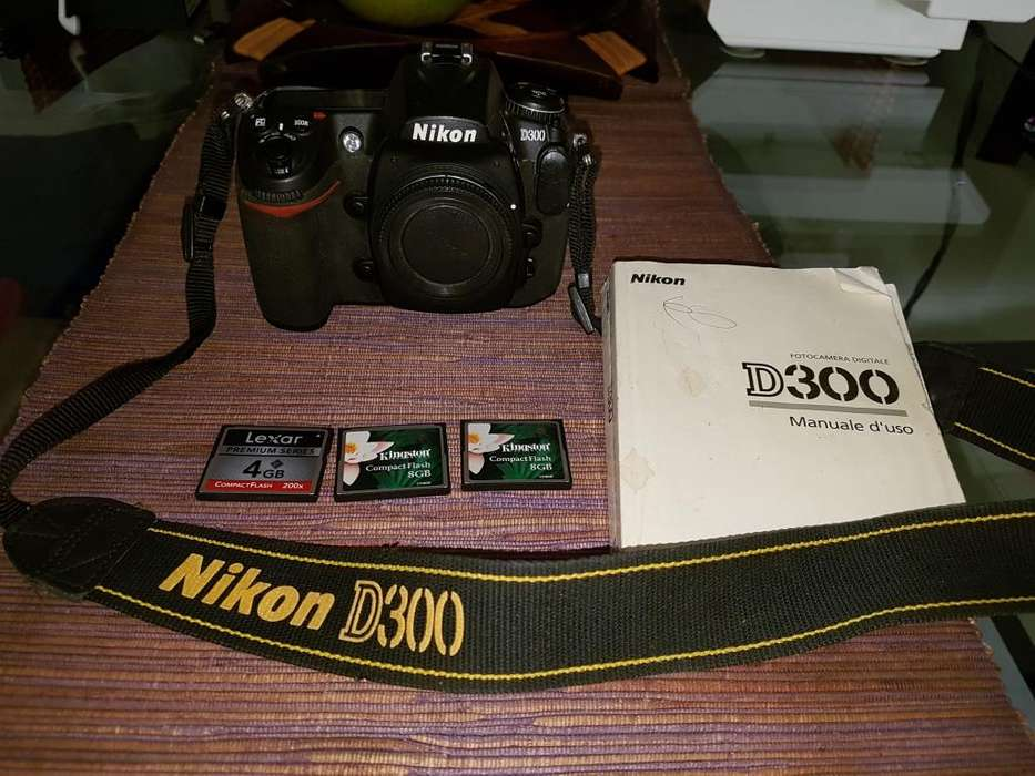 Vendo Camara Semiprofesional Nikon D300