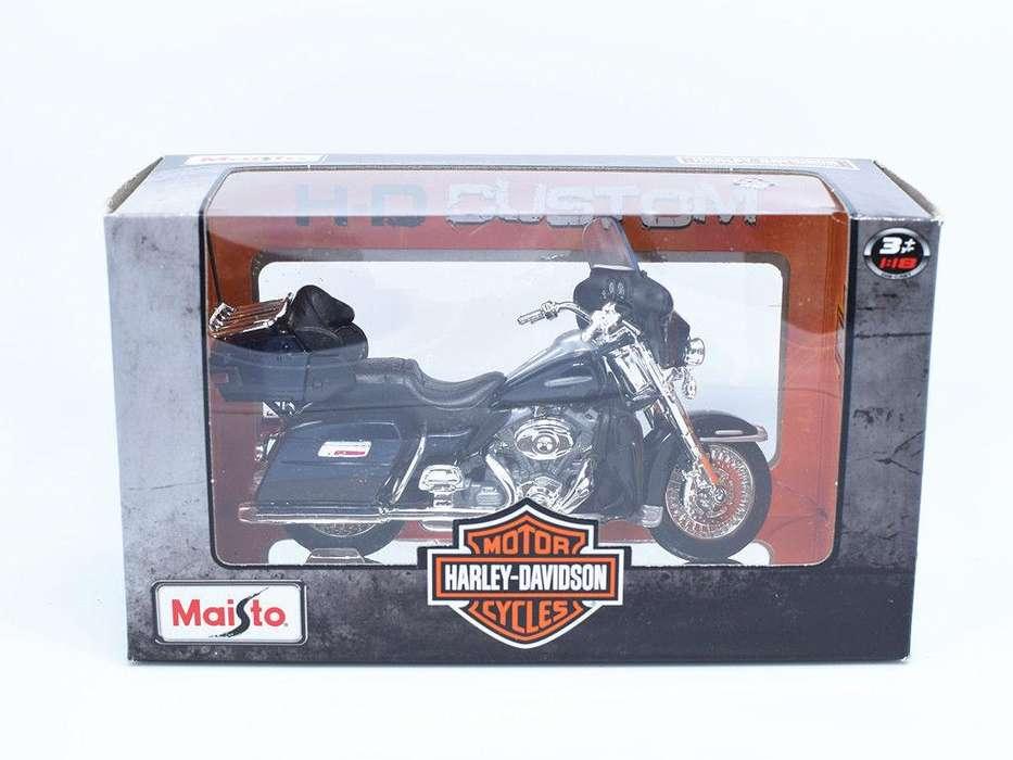 Harley Davidson Electra Glide Ultra Limited 1:18 - Maisto