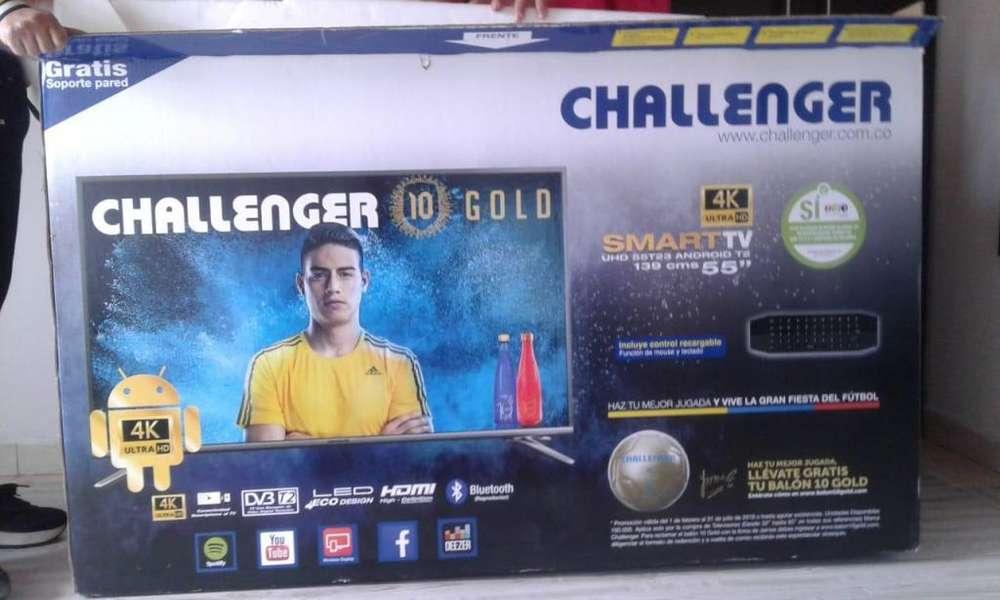 tv smart 55 challenger repuestos