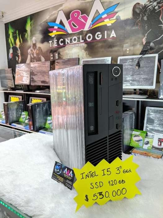 Intel Core I5 Tercera Gen(disco Solido)